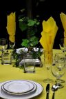 "20"" x 20"" Square Table Napkin LEMON"