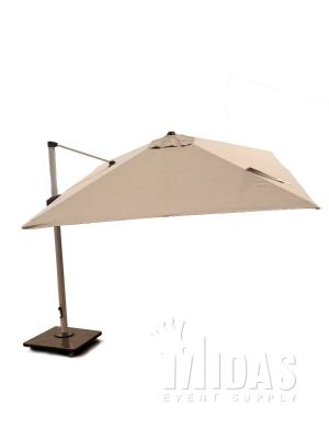 3m x 3m ROMA Hanging Umbrella with LED Light