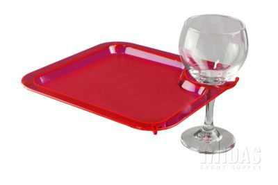 Patio PLATE RED -SALE