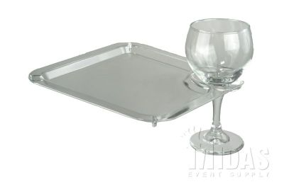 Patio PLATE CLEAR -SALE
